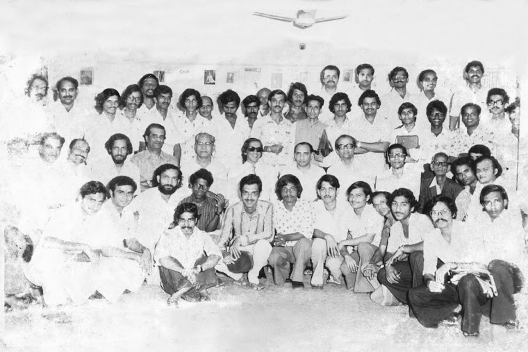 GOAN JOURNALIST DURING A SEMINAR IN 1978
