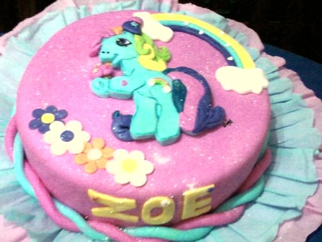 Torta Y Gelatina Arlequin De My Little Pony
