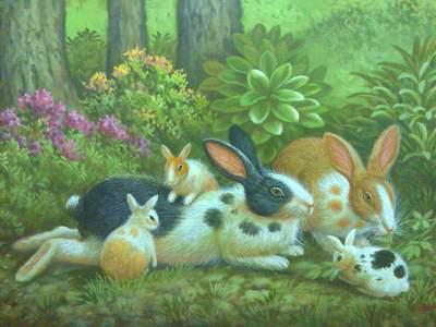 Lukisan Binatang