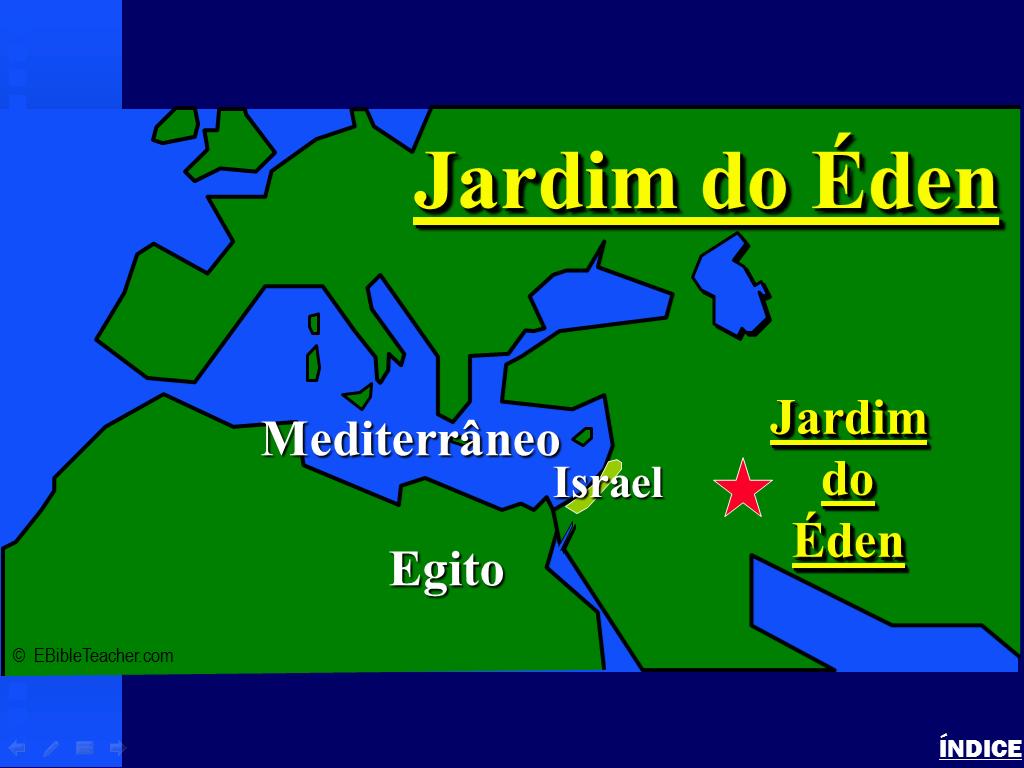 Região considerada como o Jardim do Éden está em processo de