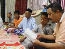 16 Jan 2010 Doa' Kesyukuran di Bangi