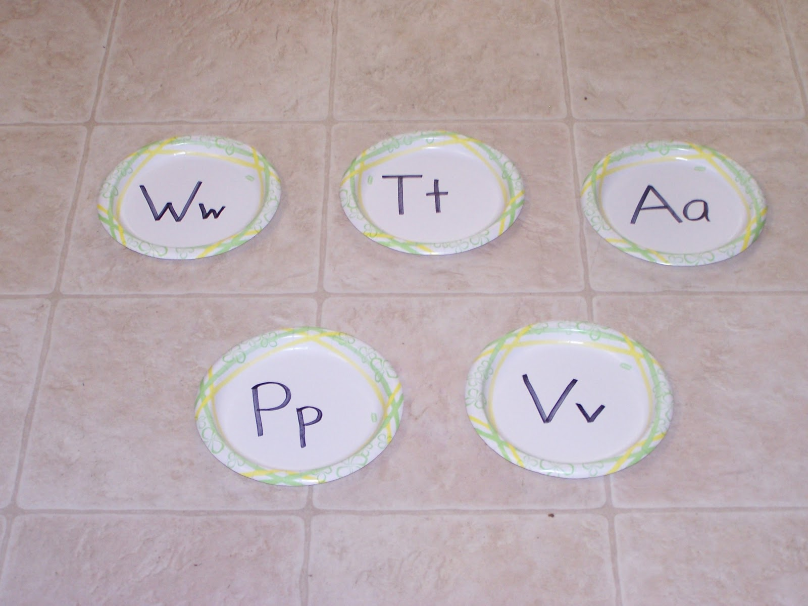 Bag Letter Toss Game With