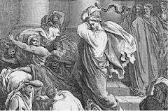 Echando a los mercaderes del templo