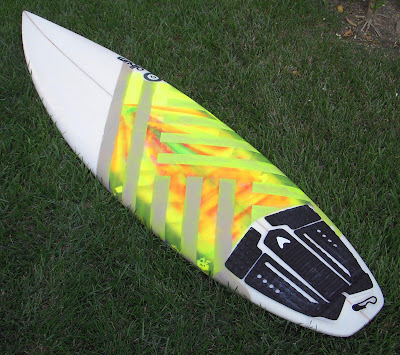 Album Surfboards AMP model thruster $200.00