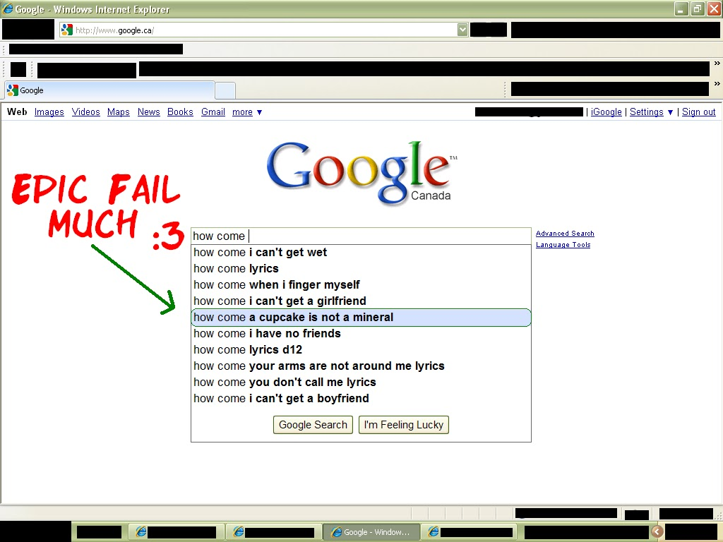 Maxxellions Blog: Fun with Google: People Search the