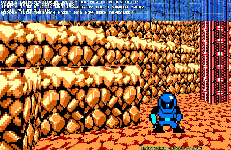 8 Bit Megaman Deathmatch