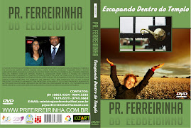 DVD VOL 10 PR. FERREIRINHA ESCAPANDO DENTRO DO TEMPLO