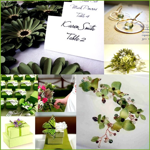 Wedding Color Part 4 If you like the color green it 39s said you will do