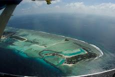 maldives vue d'hydravions