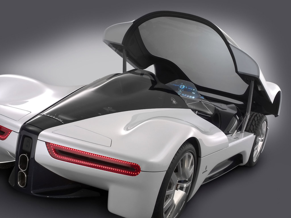 Fast Concept Supercars Maserati Pininfarina 75th Birdcage