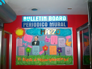 Intec texmelucan for Diario mural en ingles