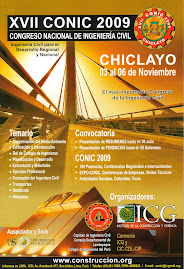 XVII CONGRESO NACIONAL DE INGENIERIA CIVIL