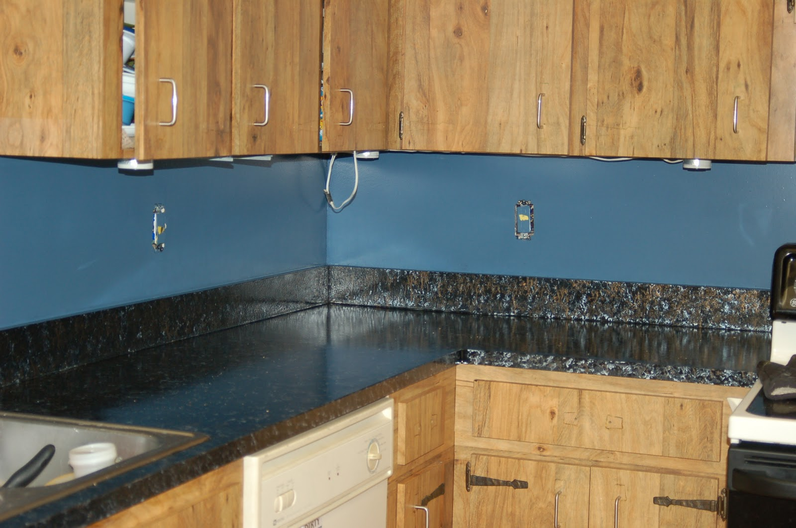 Giani Granite Paint Review! Remodel on a Budget! - Surviving A ...