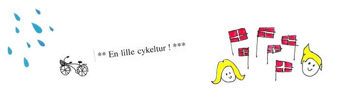 en lille cykeltur