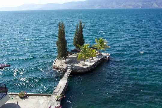 Danau Toba. Frans Hunter Siboro