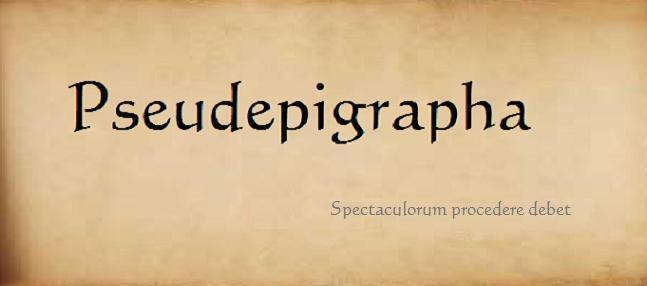 Pseudepigrapha