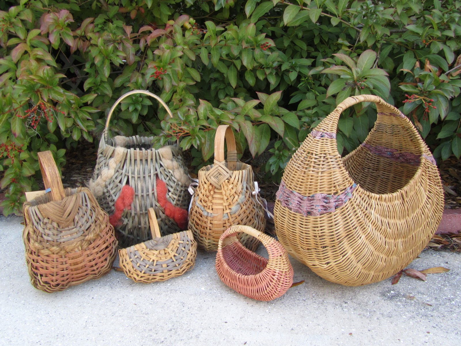 Basket Weaving Ri : Connecting pieces attic surprises and memories