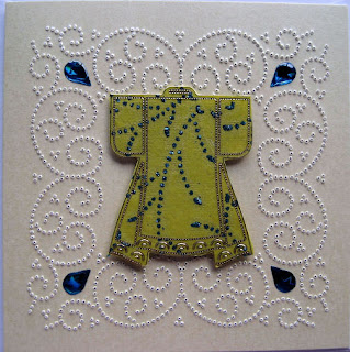 Foil play updates a selection of cards made using ornare for Paper pricking templates