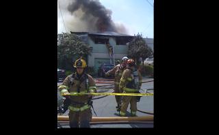 Arcata House Fire - not a grow house