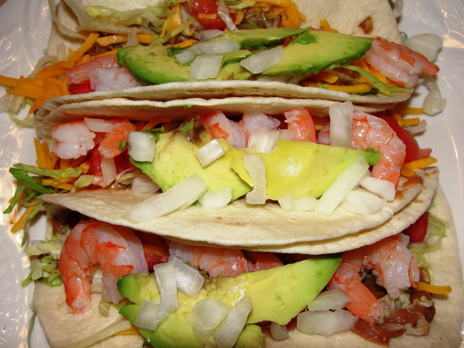 ... shrimp tacos summer squash tacos with avocado chimichurri sauce tex