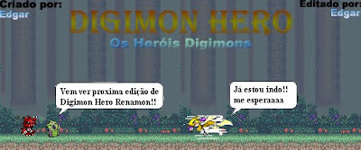 Dupla Dinamica Na Web Digimon Hero