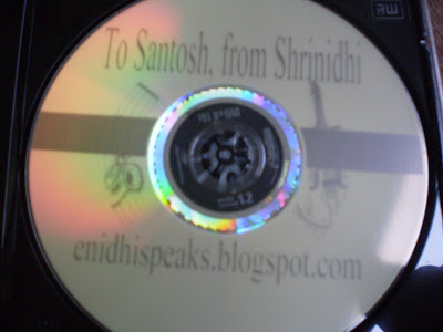 DVD burnt using lightscribe direct disc labeling technology