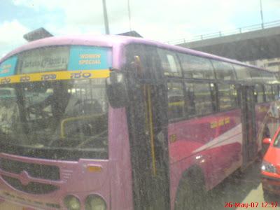 BMTC Women special bus
