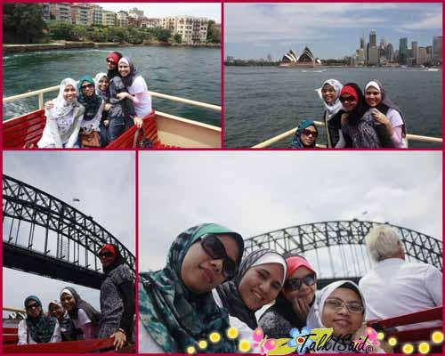 Opera House and Sydney Bridge
