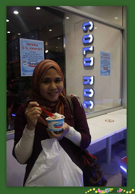 Cold Rock ice-cream