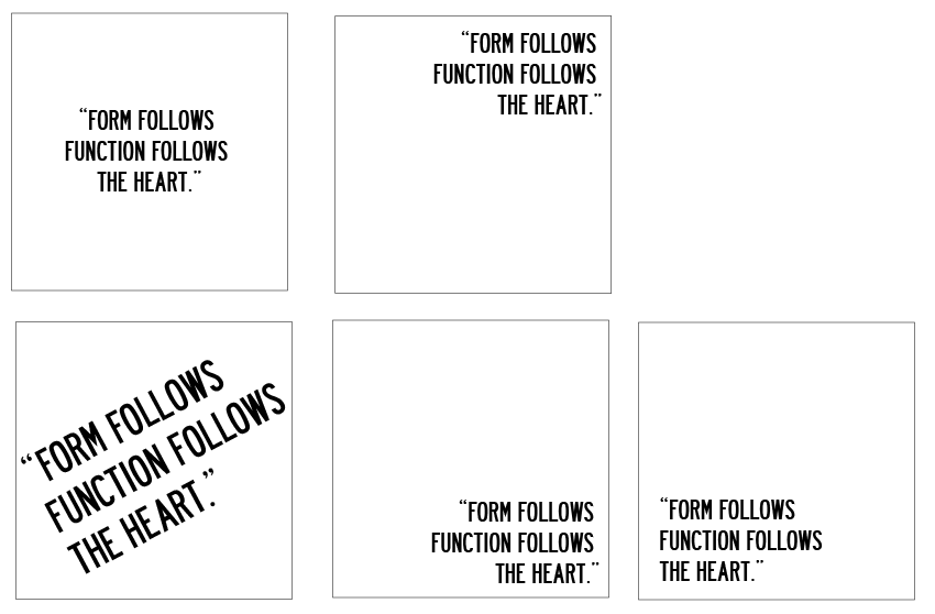 Form Over Function yr 3 design practice blog: form follows function follows the heart