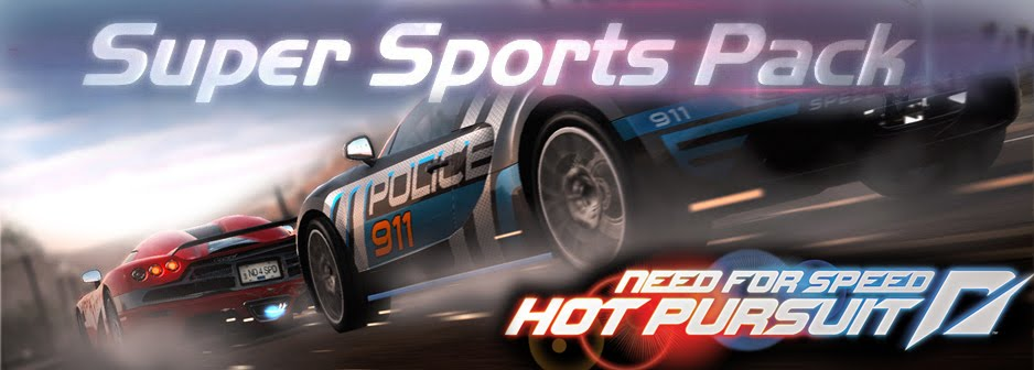 Need for Speed Hot Pursuit Super Sports DLC pack