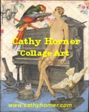 Cathy Horner Collage Art