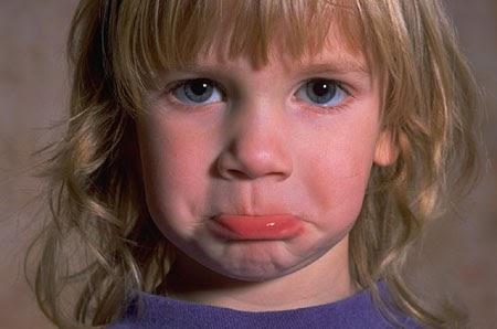 Little Kid Sad Lip