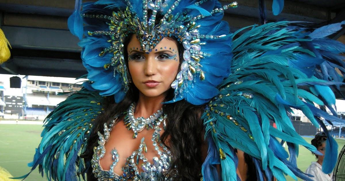 Trinidad Carnival Diary: Revlon Directional Makeup looks