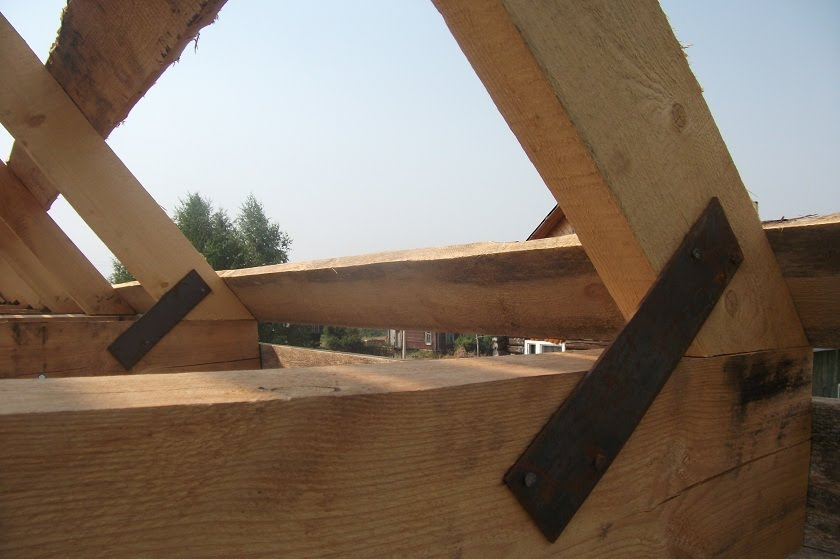 Крыша мансардного типа своими руками фото на домах