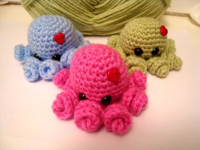 Mini Amigurumi Octopus : Amigurumi Octopus Related Keywords & Suggestions ...