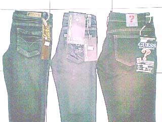 jeans wanita Loggo, Bebe , D&G dll