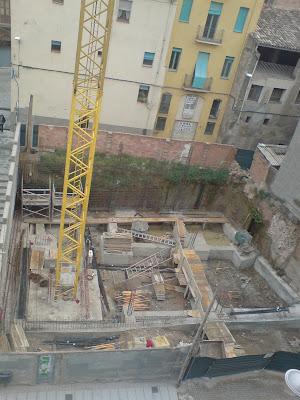 Obra nova, fonaments, construcció