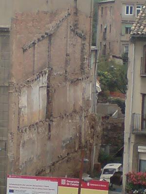 Plaça Sant Ignasi, solar, degradació