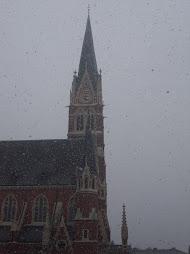 Achter de zon, zit weer wat sneeuw!
