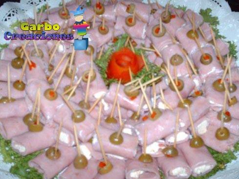 Garbo creaciones: Pasapalos Dulces y Salados!!!!