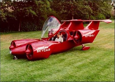 Prototipo auto volador
