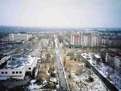 Desastre nuclar de Chernobil en Pripyat, Ucrania