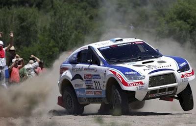 Costos del Dakar Argentina Chile 2011. Mitsubishi Stradale