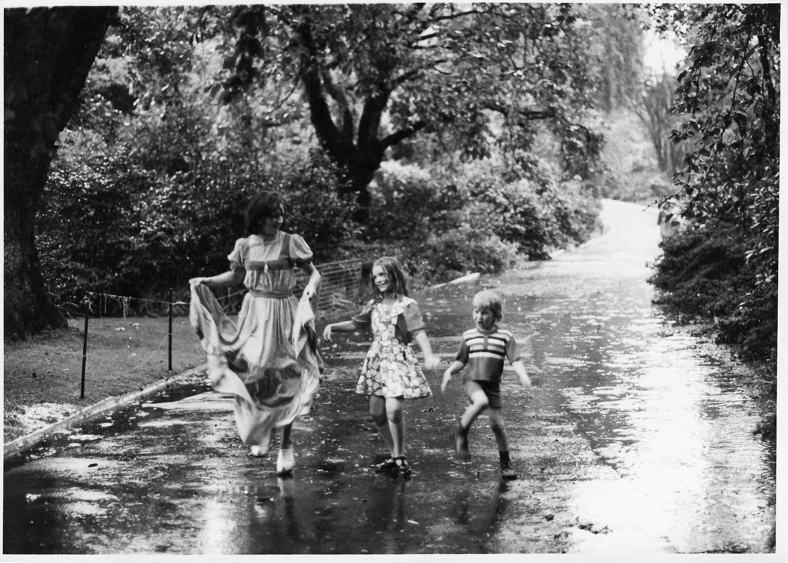 Kids Dancing In The Rain Dancing in the rain in theKids Dancing In The Rain Photography