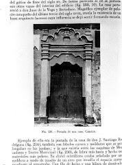 Fachada de casa.Siglo XVIII