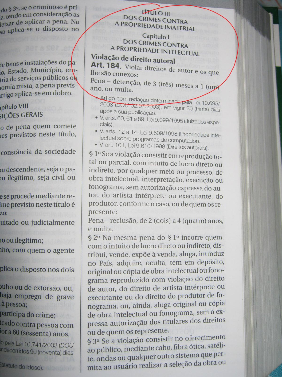 Artigo 117 do codigo penal