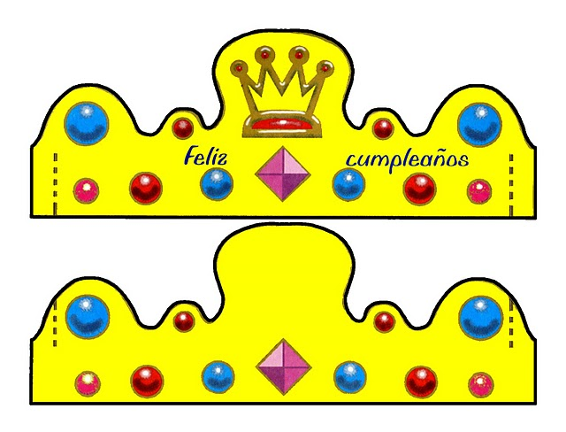 Recursos de educaci n infantil modelos de coronas para - Modelos de coronas ...