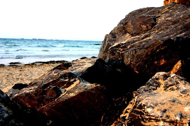 ou les rochers sont noirs