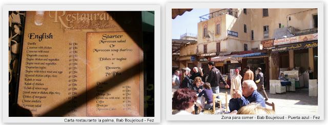 Comer en Fez